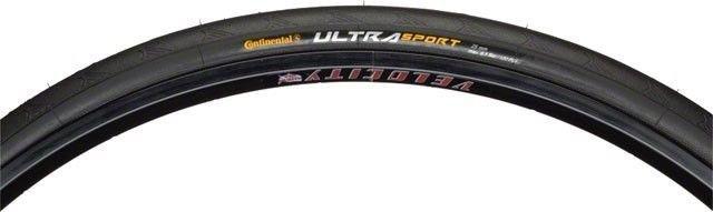Continental Continental Ultra Sport II Tire 27x1-1/4 Steel Bead Black