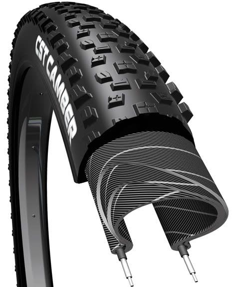 CST Camber Tire 26 x 2.1 Single Compound, 27tpi, Steel Bead, Black
