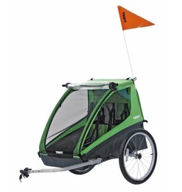 Thule Thule Cadence 2 Child Carrier Trailer Green