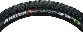 "Kenda Kenda Havok Pro Tire: 27.5 x 3.0"" DTC/SCT with EMC construction and Folding Bead, Black"