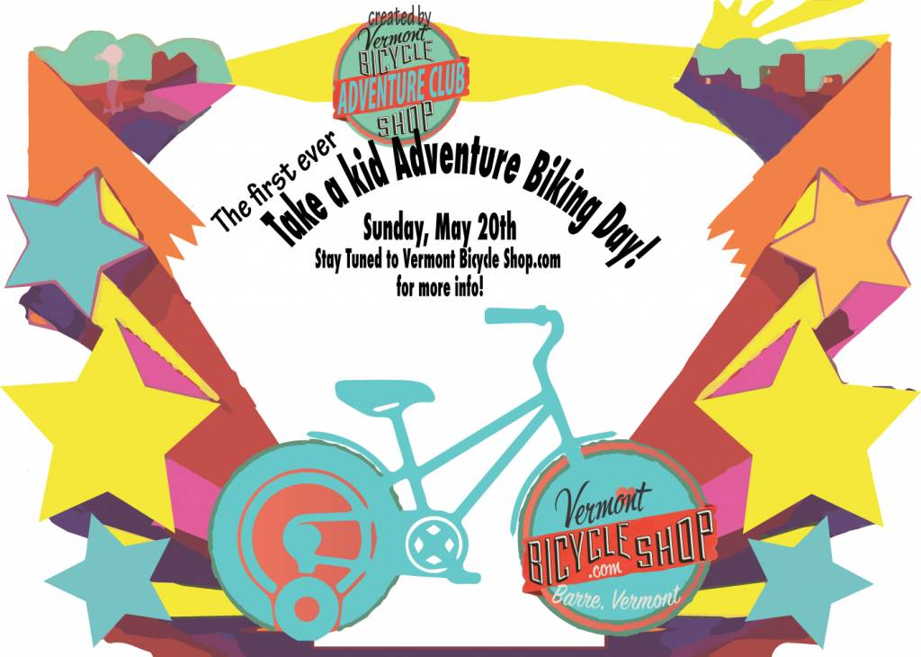 Take a Kid Adventure Biking Day