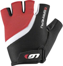 Louis Garneau Louis Garneau Biogel RX-V Men's Glove: Ginger Red/Black MD