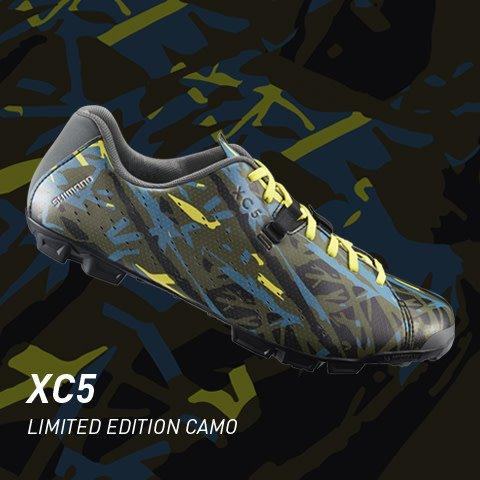 Shimano Shimano SH-XC5 Camo Limited Edition Gravel Shoe