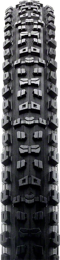 """Maxxis Maxxis Aggressor Tire: 27.5 x  2.30"""", Folding, 120tpi, Dual Compound, Double Down, Tubeless Ready, Black"""