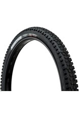 "Maxxis Maxxis Aggressor Tire: 27.5 x 2.50"", Folding, 60tpi, Dual Compound, EXO, Tubeless Ready, Wide Trail, Black"