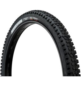 """Maxxis Maxxis Aggressor Tire: 27.5 x 2.50"""", Folding, 60tpi, Dual Compound, EXO, Tubeless Ready, Wide Trail, Black"""