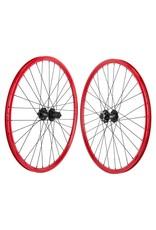 Mach 1 MX Disc 26x1.5 32 Spoke Red Wheelset