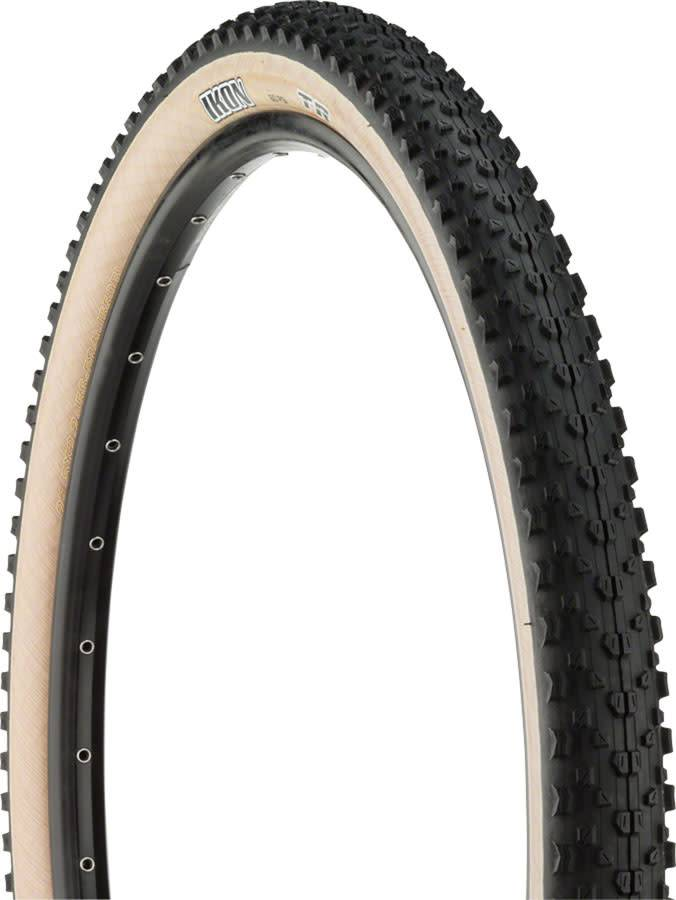 "Maxxis Maxxis Ikon Tire: 29 x 2.20"", Folding, 60tpi, Dual Compound, Tubeless Ready, Skinwall"