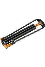 Lezyne Micro Drive XL Alloy Black Fat Bike Frame Pump