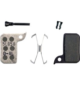 SRAM SRAM Disc Brake Pad Set Organic with Aluminum Back fits Hydraulic Road Disc, Level Ultimate and Level TLM