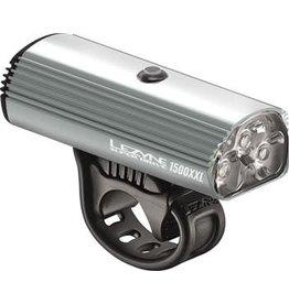 Lezyne Super 1500XXL Headlight: Gray