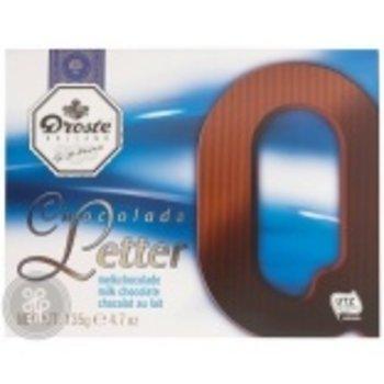 Droste Large Q Milk Chocolate Letter - 4.7 OZ