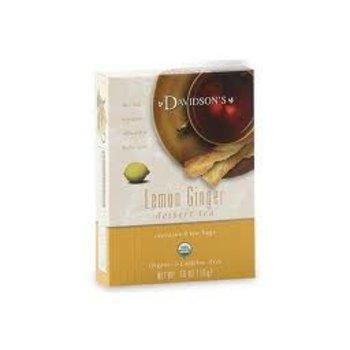 Davidsons DT Lemon & Ginger tea 8 ct