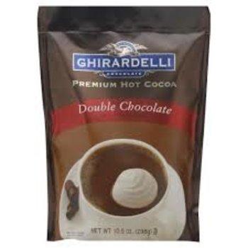 Ghirardelli Double Chocolate Cocoa Pouch - 10.5 OZ