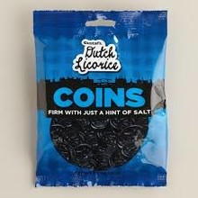 Gustafs Coins Licorice Bag 5.2 Oz