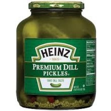 Heinz Pickle Genuine Dill - 46 OZ Jar