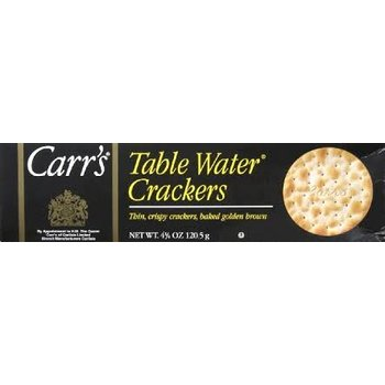 Carrs Table Water Crackers - 4.25OZ