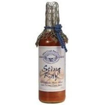 Blue Crab Bay Sting Ray Bloody Mary Mixer w/Fishnet - 25 Oz Bottle