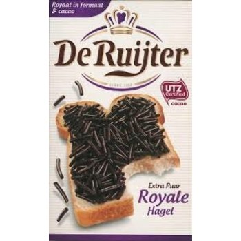 De Ruijter Royal Extra Dark Sprinkles - 13.3 OZ