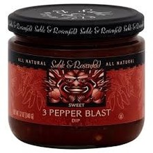 Sable & Rosenfeld 3 Pepper Blast Appetizer - 12 OZ Jar