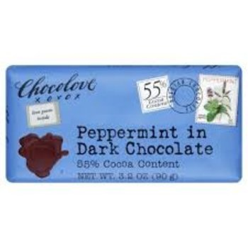 Chocolove Peppermint bar Dark Chocolate - 3.2OZ