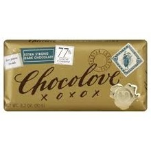 Chocolove 77% Dark Bar - 3.2 OZ