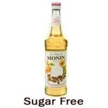 Monin Sugar Free Caramel Syrup - 25.4OZ glass bottle
