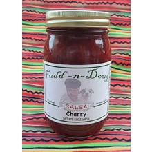Fudd-n-Doug Cherry Salsa  - 17 Oz Jar