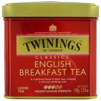 Twinings Loose leaf English Breakfast Tea - 3.5OZ tin
