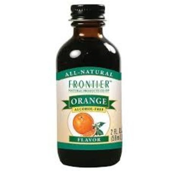 Frontier Orange Flavor - 2 Oz Jar