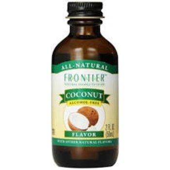 Frontier Coconut Flavor - 2 Oz Jar