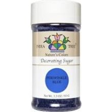 India Tree Periwinkle Blue Decoration Sugar 3.3 Oz
