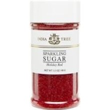 India Tree Red Sparkling Sugar - 3.5 OZ