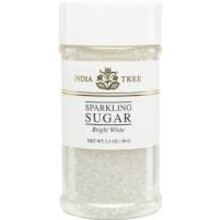 India Tree Bright White Sparkling Sugar - 3.5 OZ