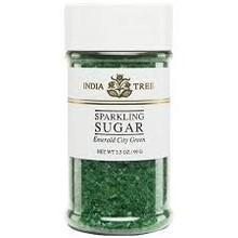 India Tree Emerald Green Sparkling Sugar 3.5 Oz