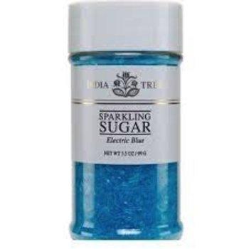 India Tree Electric Blue Sparkling Sugar - 3.5 OZ