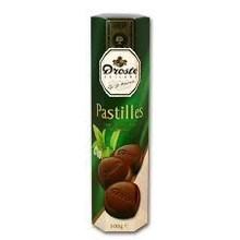 Droste Mint Dark Chocolate Pastille - 3.5 OZ