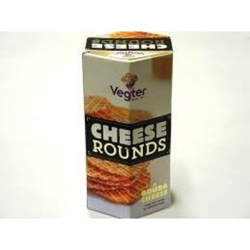 Vegter Crispy Cheese Rounds 2.8 oz box Reg $2.99