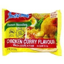 Indomie Chicken Curry Noodles - 2.82 Oz