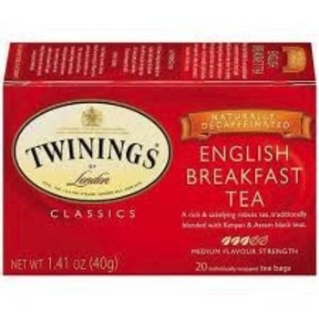 Twinings English Breakfast Decaf Tea - 20 CT