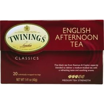 Twinings Englsh Afternoon Tea - 20 CT