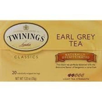 Twinings Earl Grey Decaf Tea - 20 CT