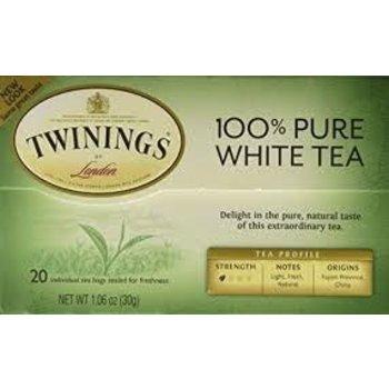 Twinings Pure White Tea - 20 individual bags