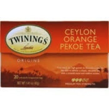 Twinings Ceylon Orange Pekoe Tea - 20 individual bags