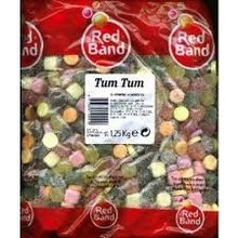 Red Band Tum Tum Soft Candy Kilo Bag - 2.2 LBS