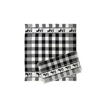 Twenstse Black Cow Tea Towel 25x23