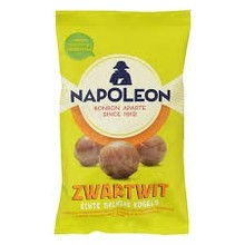 Napoleon Black & White Licorice Balls - 5.3 OZ