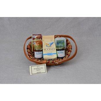 Gift Basket Breakfast & Tea Basket
