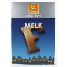 De Heer Milk F Small Letter - 2.27 OZ