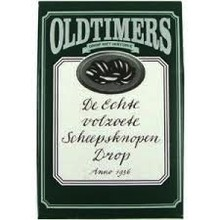 Old Timers Scheepsknopen Sweet Oval Licorice - 7.9 Oz